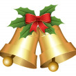 Christmas Holiday Bells Vector Illustration — 图库矢量图片