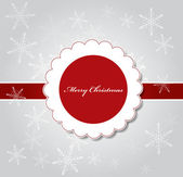 Christmas Vector Illustration Background — Stock Vector