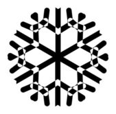 Snowflake Art Vector — Stock Vector