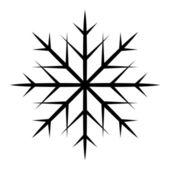 雪花形状-圣诞节矢量插画 — 图库矢量图片