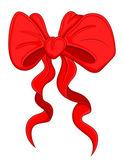 Cartoon Bow - Christmas Vector Illustration — Stock Vector