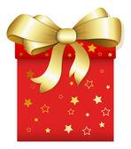 Regalo - illustrazione vettoriale di Natale — Vettoriale Stock