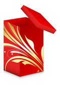 Royal Gift Box - Christmas Vector Illustration — Stockvector