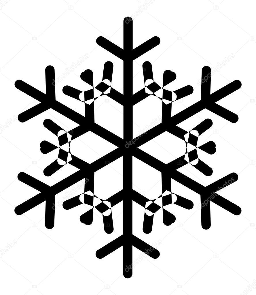 Flocon de neige vintage image vectorielle baavli 16947635 - Dessins flocons de neige ...