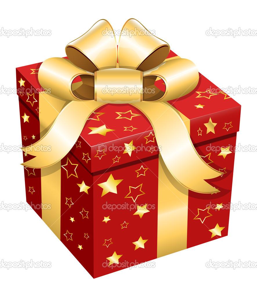 Картинка коробка подарок
