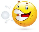 Smiley Vector Illustration - Fresh Mouth — Stock Vector