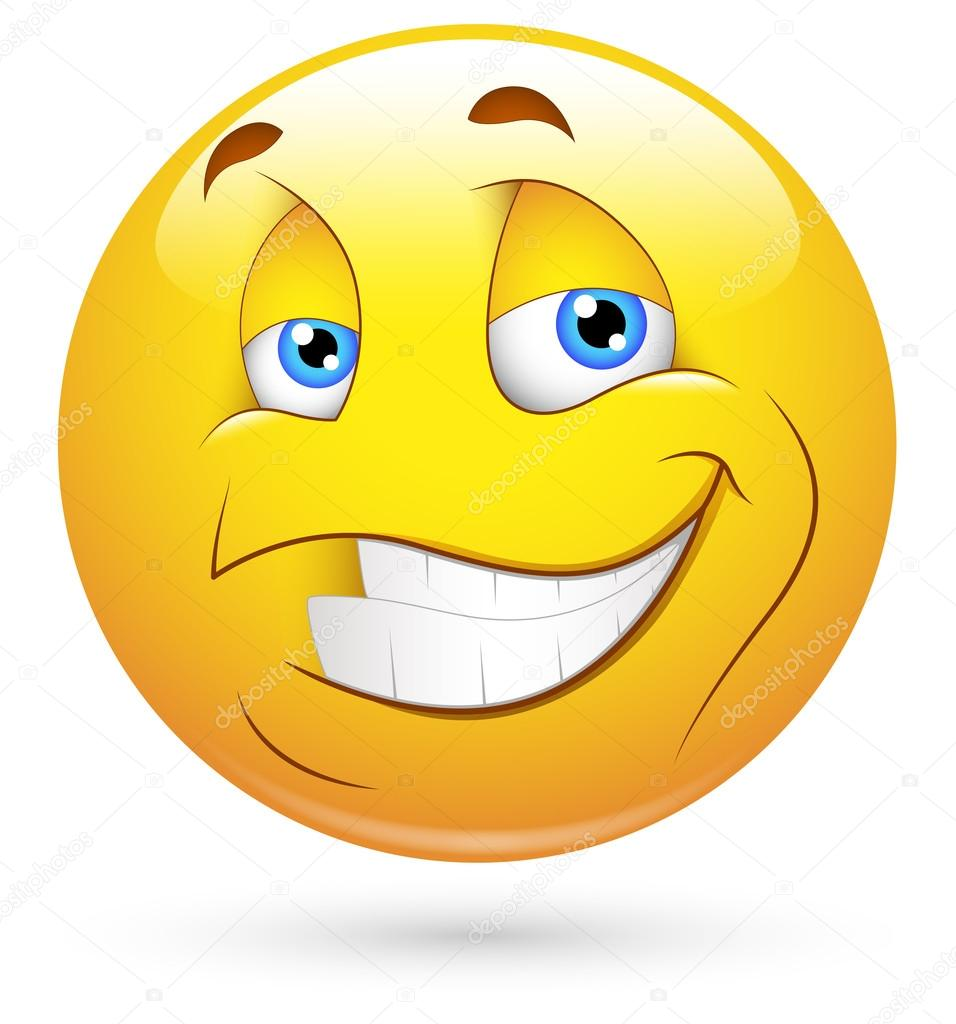 Smiley Zähne