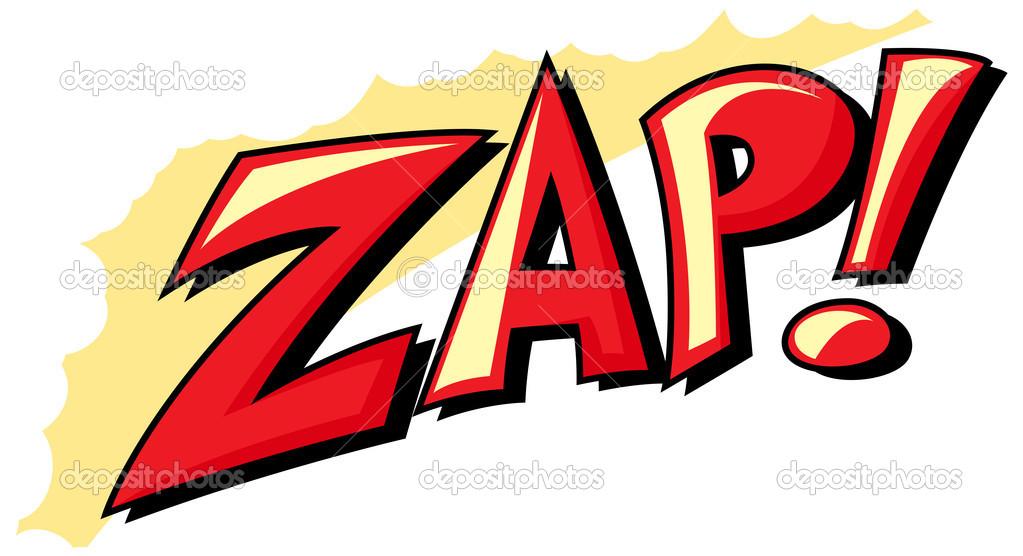 Zap - Comic Expression Vector Text � Stock Vector � baavli #24669525