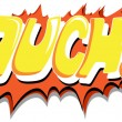 Stock Vector: Ouch - Comic Expression Vector Text