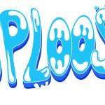 Sploosh - Comic Expression Vector Text — Stock Vector #24674417
