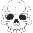 Skull - Royalty Free Vector — Stock Vector