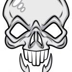 Scary Skull Vector — Stock Vector #27811545