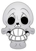 Royalty Free Vector - Funny Skull — Stock Vector