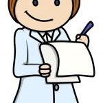 Nurse - Vector Cartoon Illustration — Stock Vector #28820083