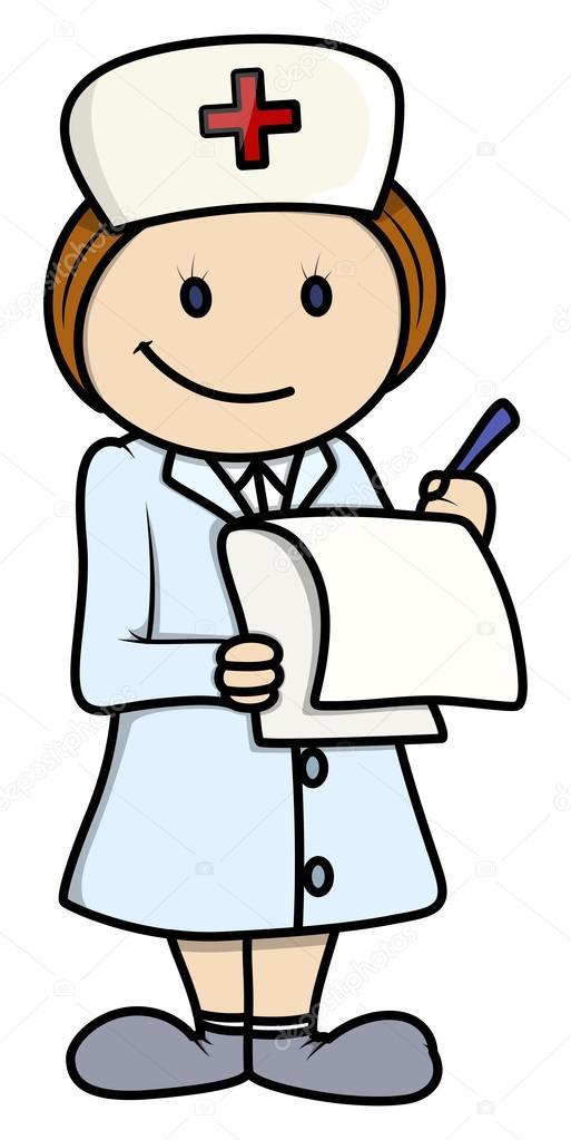 Znalezione obrazy dla zapytania pielęgniarka rysunek