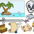 Pirate Illustrations Set — Stock Vector #29883249