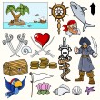 Stock Vector: Pirate Vector Illustrations & Cartoons