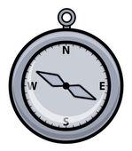 Kreslený kompas - vektorové ilustrace — Stock vektor
