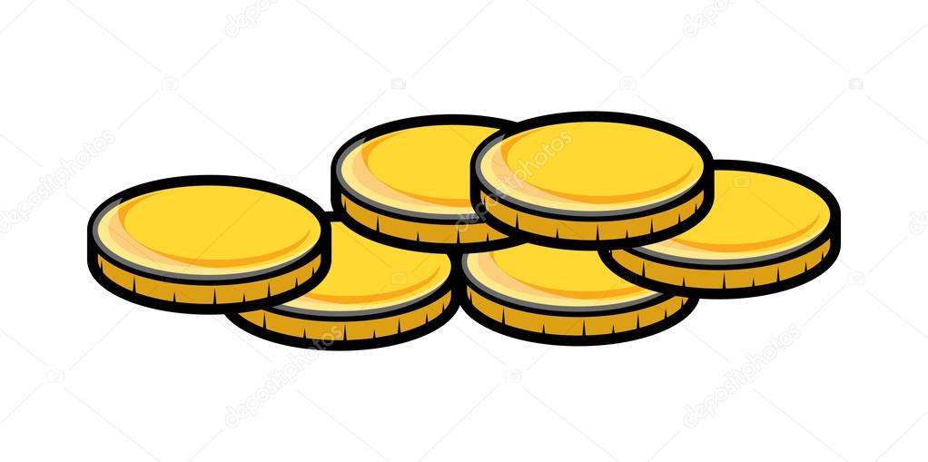 Gold Coin Currency Gold Currency Coins Vector