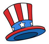 Uncle sam cartoon hat — Stock Vector