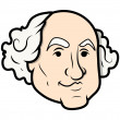 ������, ������: George Washington Cartoon Clip Art Vector