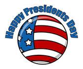 Happy Presidents Day Icon Vector — Stock Vector