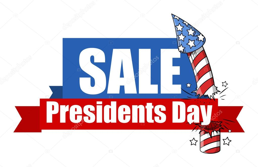 Happy Presidents Day Banner Sale - presidents day - big