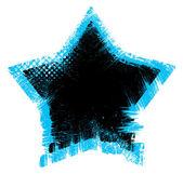 Vector estrellas grunge — Vector de stock