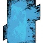 Rusty Grunge Banner Frame Vector — Stock Vector #31243439