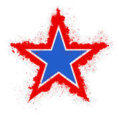 Grunge star - 4th of July Vector theme Design — 图库矢量图片