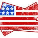 Gruneg flag - USA Independence Day Vector theme Design — Stock Vector #31362285