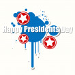 Happy Presidents Day Vector Illustration — Stock Vector