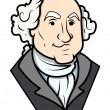 ������, ������: George Washington Vector Clip art