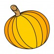 Pumpkin vector — Stock Vector #32526947