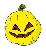 Wicked smiling jack o' lantern — Stock Vector