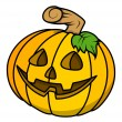 Sweet pumpkin vector for halloween — Stock Vector