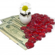 Stockfoto: Money love background