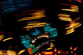 Carnival lights abstract background — Stock Photo