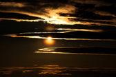 Sunset Background — Stock Photo