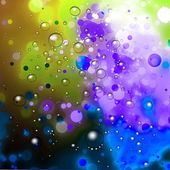 Abstract Bokeh Bubbles Background — Стоковое фото