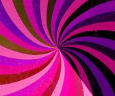 Colorful vintage circular sunburst background — Stock Photo