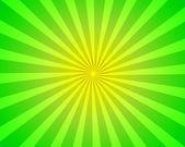 Colorful sunburst background — Stock Photo