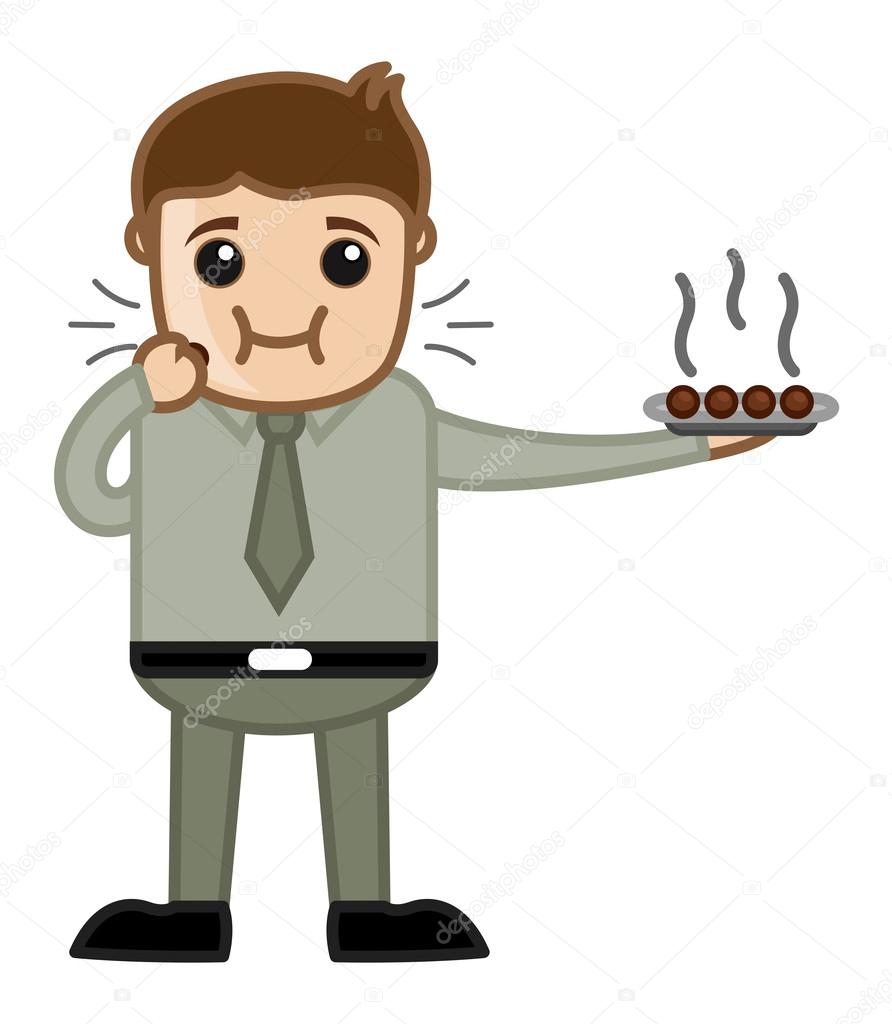 postre hombre comiendo personaje de dibujos animados de clipart heating clip art eating cake