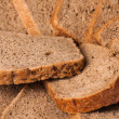 Slices of rye bread - Stock Photo