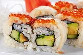 日本の寿司ロール — ストック写真