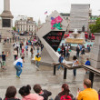 London 2012, Trafalgar square — Stockfoto