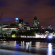 London 2012, City of London at dusk — Stock Photo #12461221