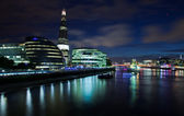 London 2012, The Shard, The City Hall and office buildings at ni — Stock Photo