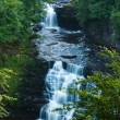 Постер, плакат: Corra Linn waterfall Clyde Valley