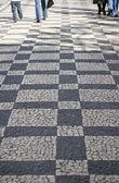 Praça pavimentada — Foto Stock